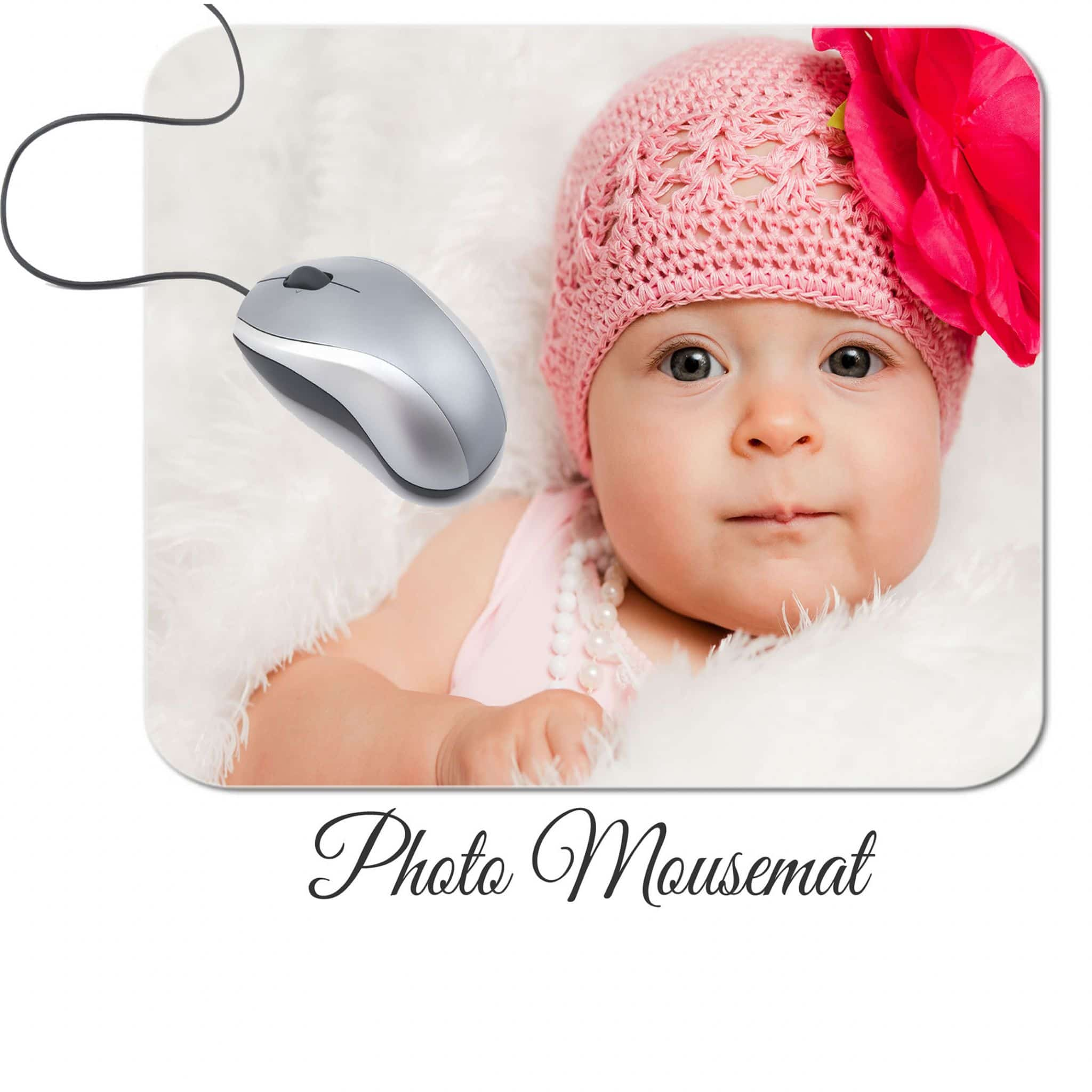 Little Gifts With Love - Personalised Mouse Mat Add Any Photo or Image