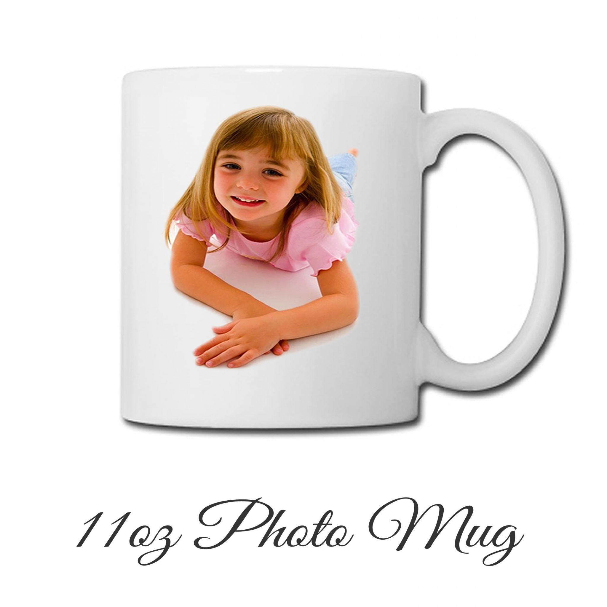 Little Gifts With Love - Personalised Photo 11oz Ceramic Coffee Mug