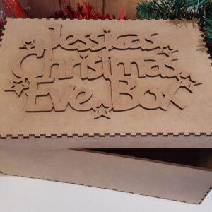 Christmas Eve Box MDF Personalised Memory Box