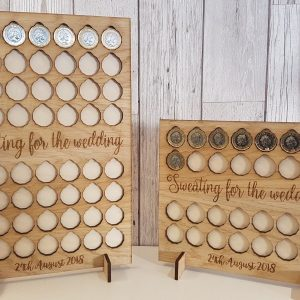 £ for lb rewards All Oak Weight Loss Journey Board Personalised Option